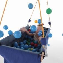 łódka podwieszana - integracja sensoryczna