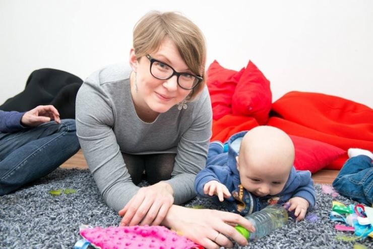 Zajęcia sensoryczne dla niemowląt i małych dzieci