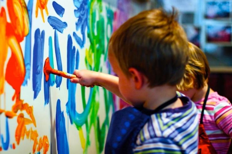 malowanie integracja sensoryczna