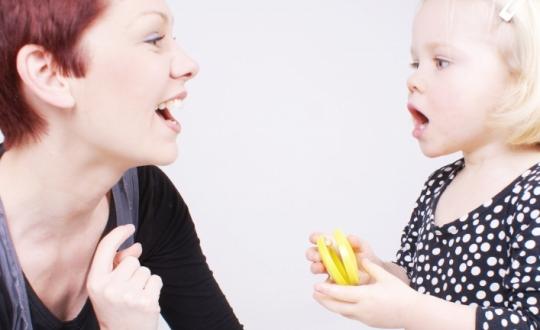 nauka mówienia