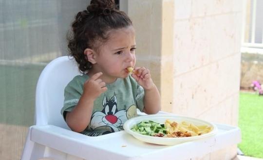 Wybiórczość jedzenia z punktu widzenia dziecka